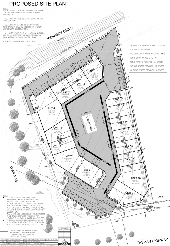 2 Kennedy Drive Warehouses Floor Plan